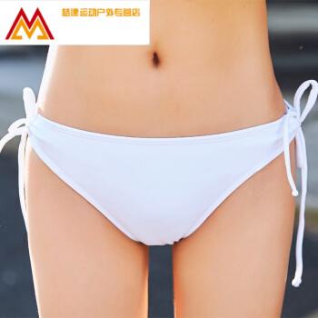 単独でビキニの水着レディは、水着のセクシービッキン三角レディの白XLを調節することができます。
